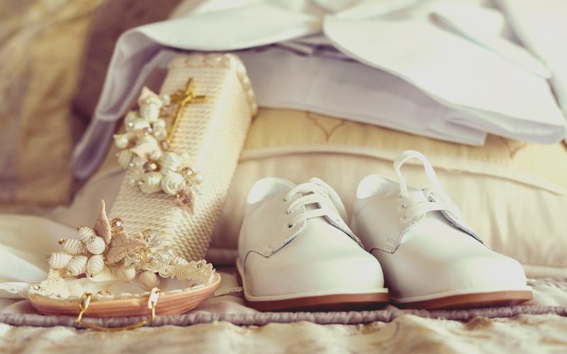 Παπούτσια Βαπτιστικά Λευκά